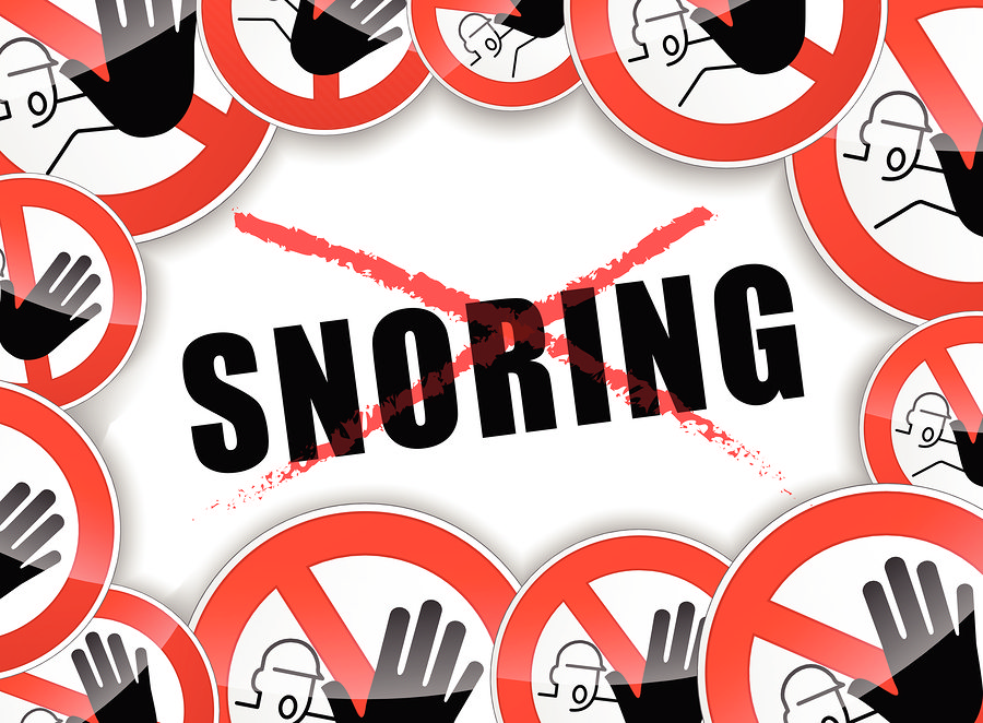 stop snoring advices