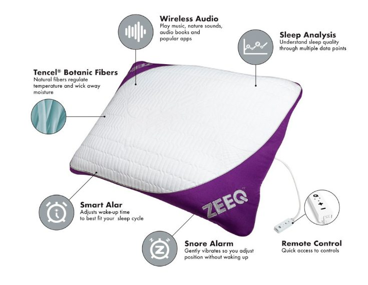 Zeeq-the-best-anti-snoring pillow-2017