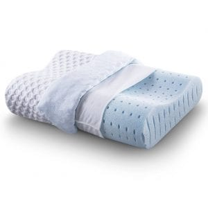 Cr-Sleep-Ventilated-Memory-Foam-Pillows- Contour-Pillowv-review-by-snoremagazine
