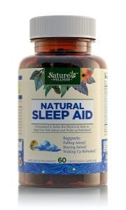 Nature's Wellness sleeping pills review by SnoreMagazine