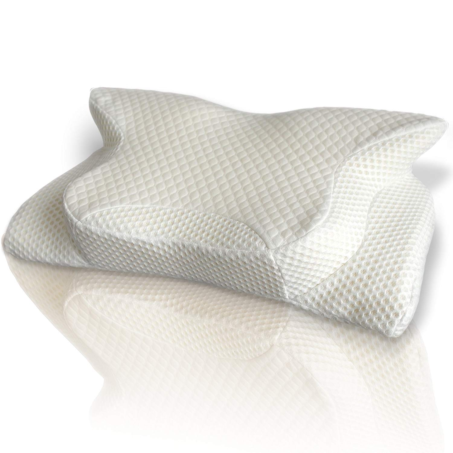 SmartDelux Orthopedic Cervical Support Pillow Review by www.snoremagazine.com