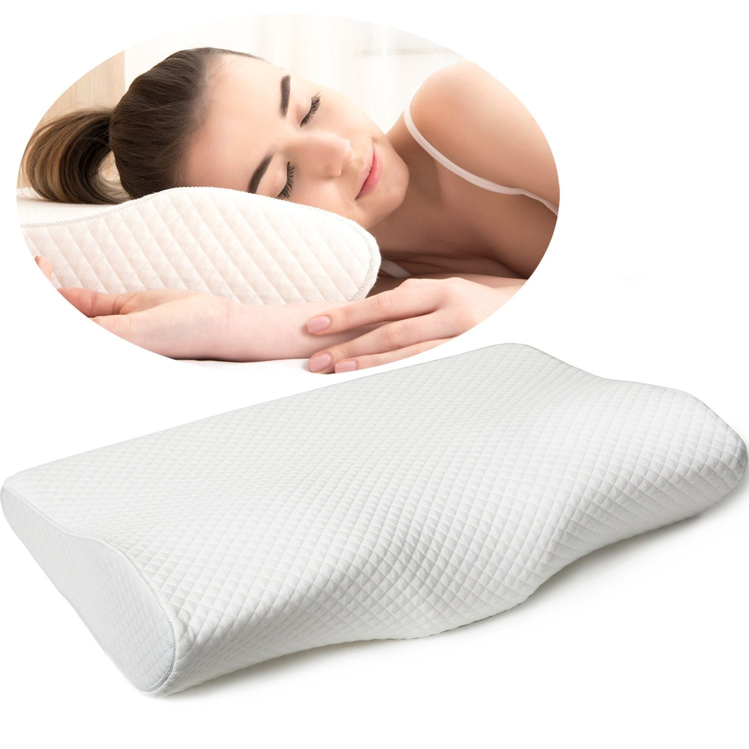 EPABO Contour Memory Foam Pillow Review by Snoremagazine