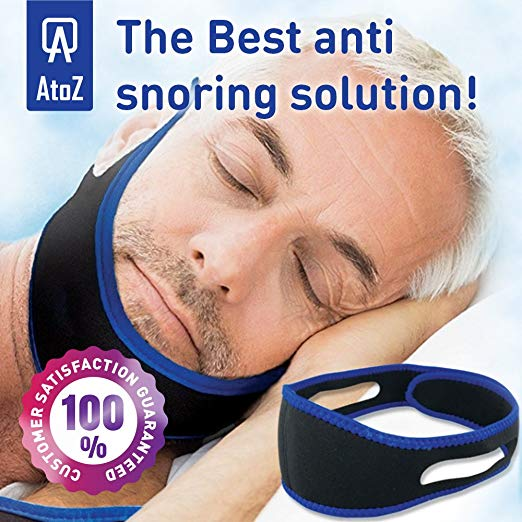 AtoZ Anti snoring Chin Strap Review by www.snoremagazine.com