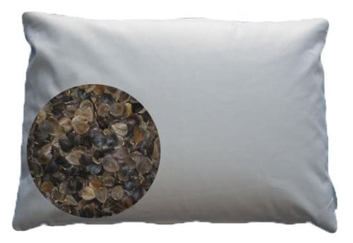 Beans72 Organic Buckwheat Pillow Review by www.snoremagazine.com