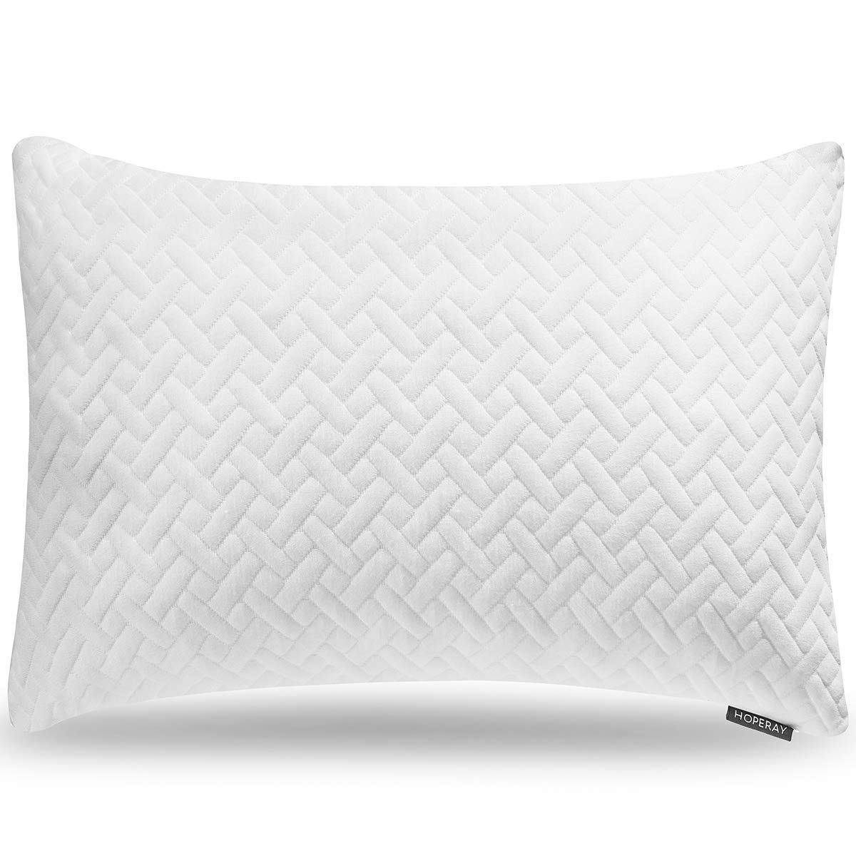 Hoperay Shredded Memory Foam Pillow Review by www.snoremagazine.com