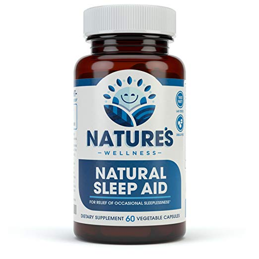 Natural Sleep Aid for Adults by Nature's Wellness Review by www.snoremagazine.com