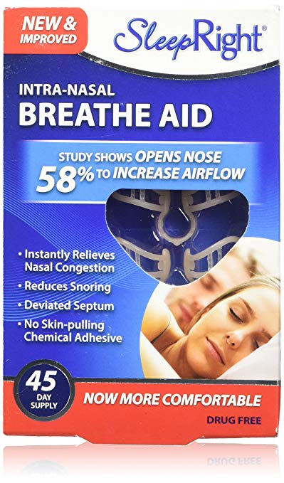 SleepRight Intra-Nasal Breathe Aids Review by www.snoremagazine.com