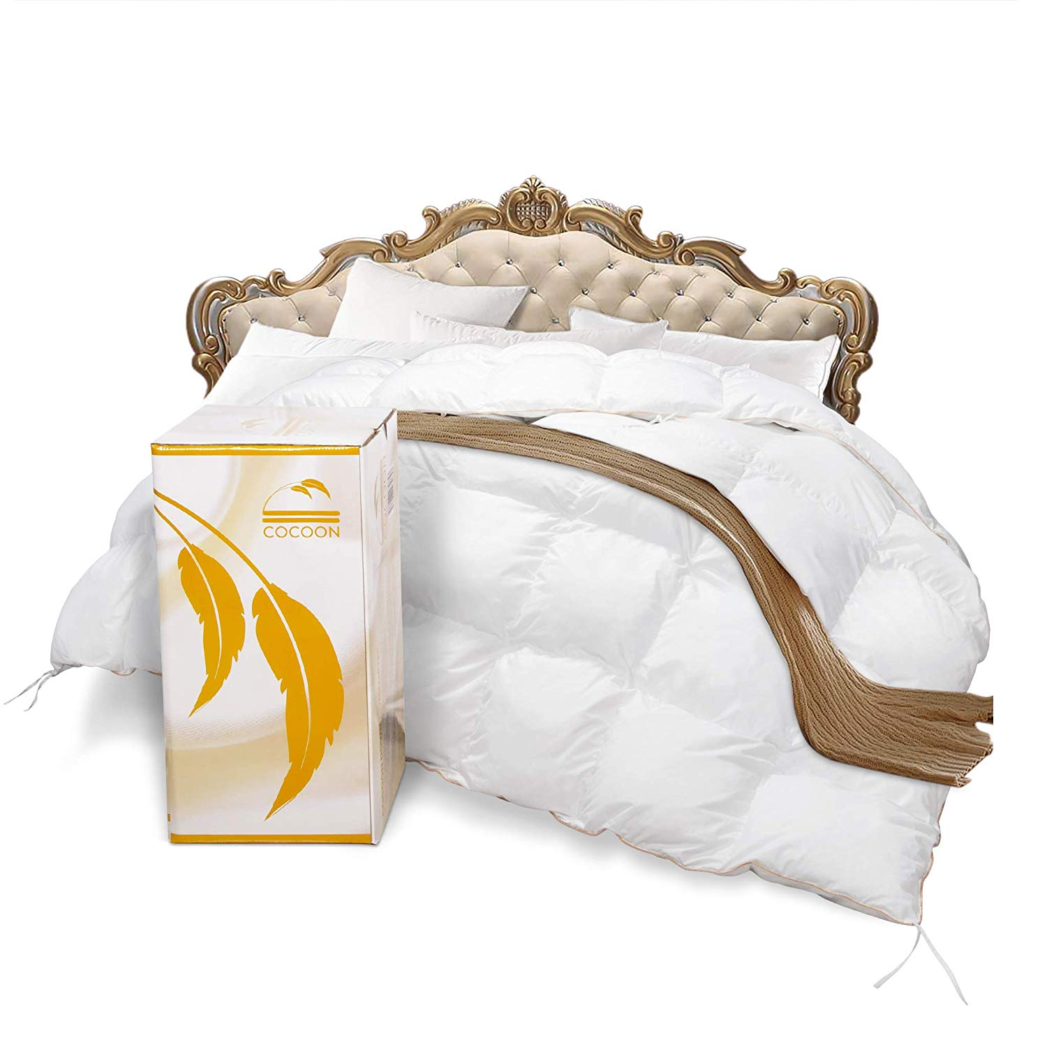 COCOON Best Down Comforter Reviews by www.snoremagazine.com