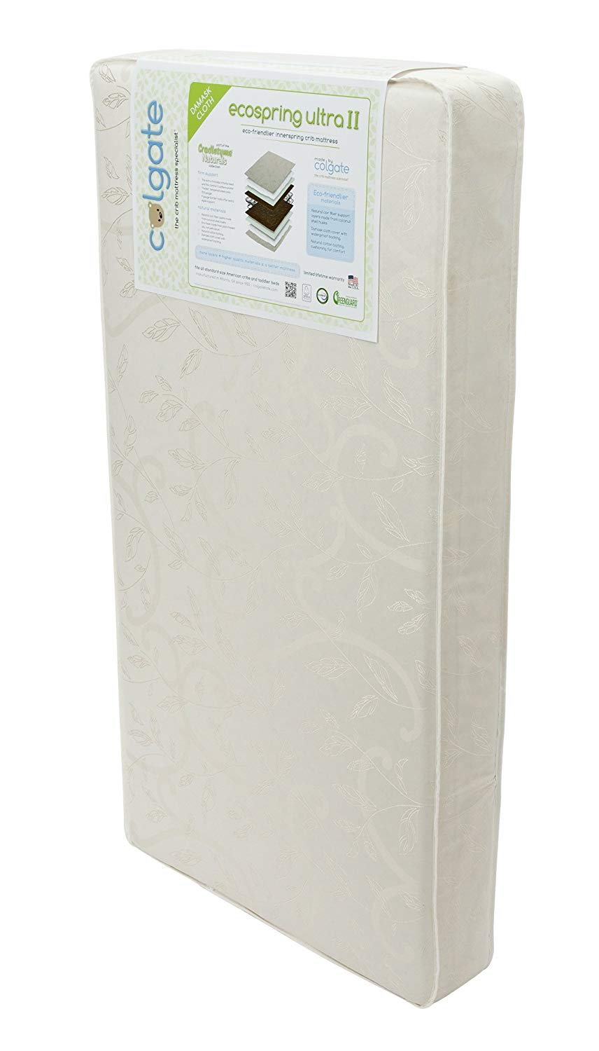 Colgate Best Crib Mattress Reviews by www.snoremagazine.com