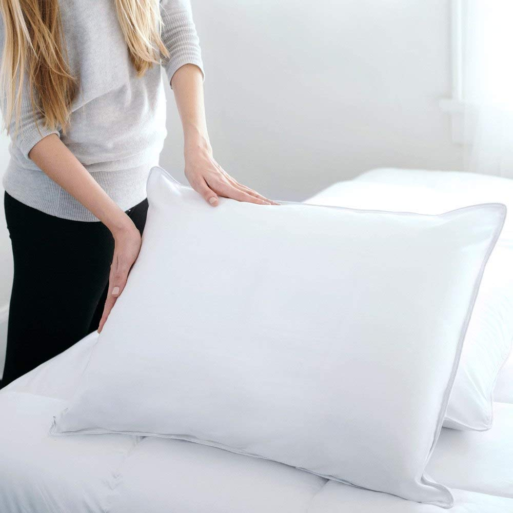 Downlite Hyppoalergenic Best Down Pillows Review by www.snoremagazine.com