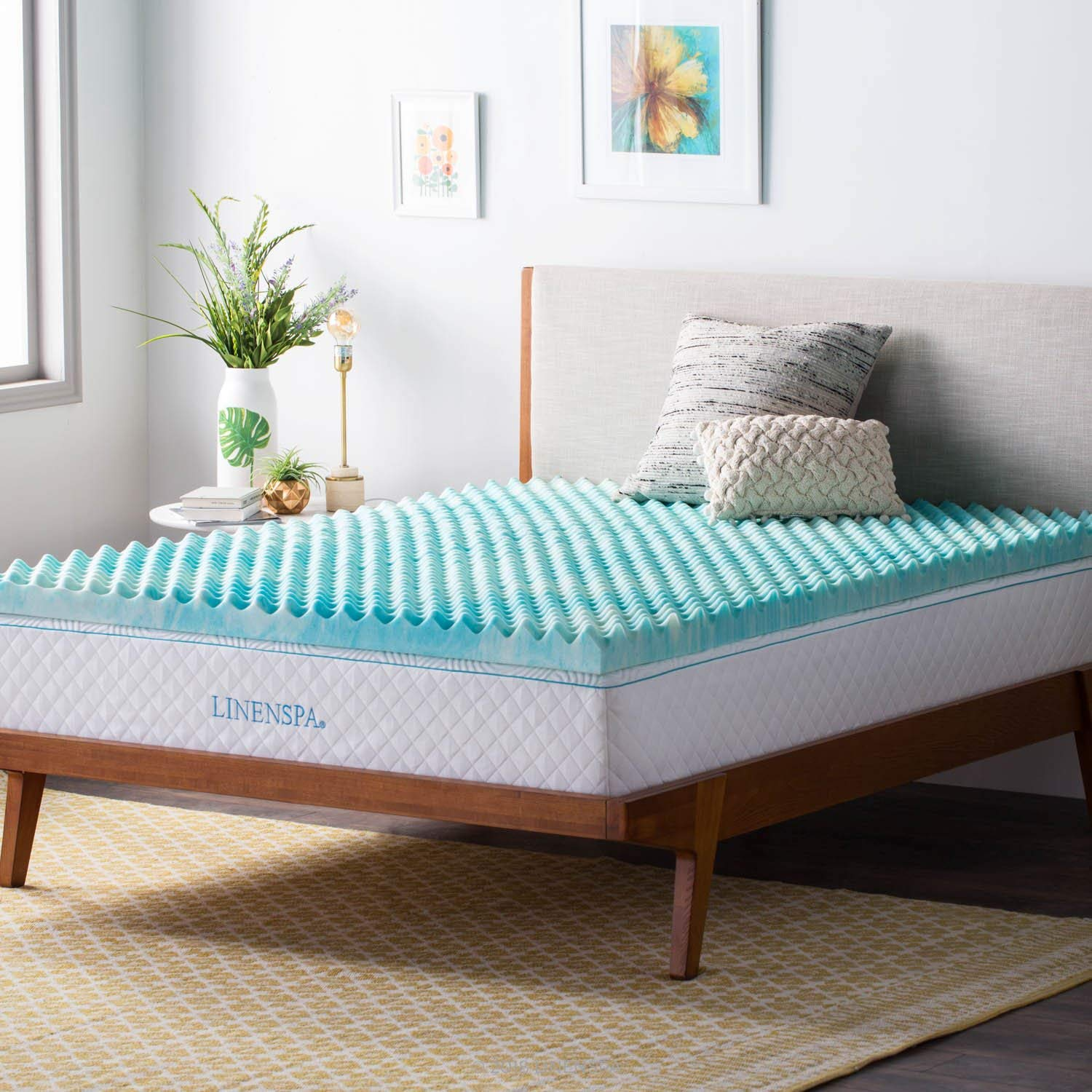 Linenspa Best Mattress Topper for Back Pain Review by www.snoremagazine.com
