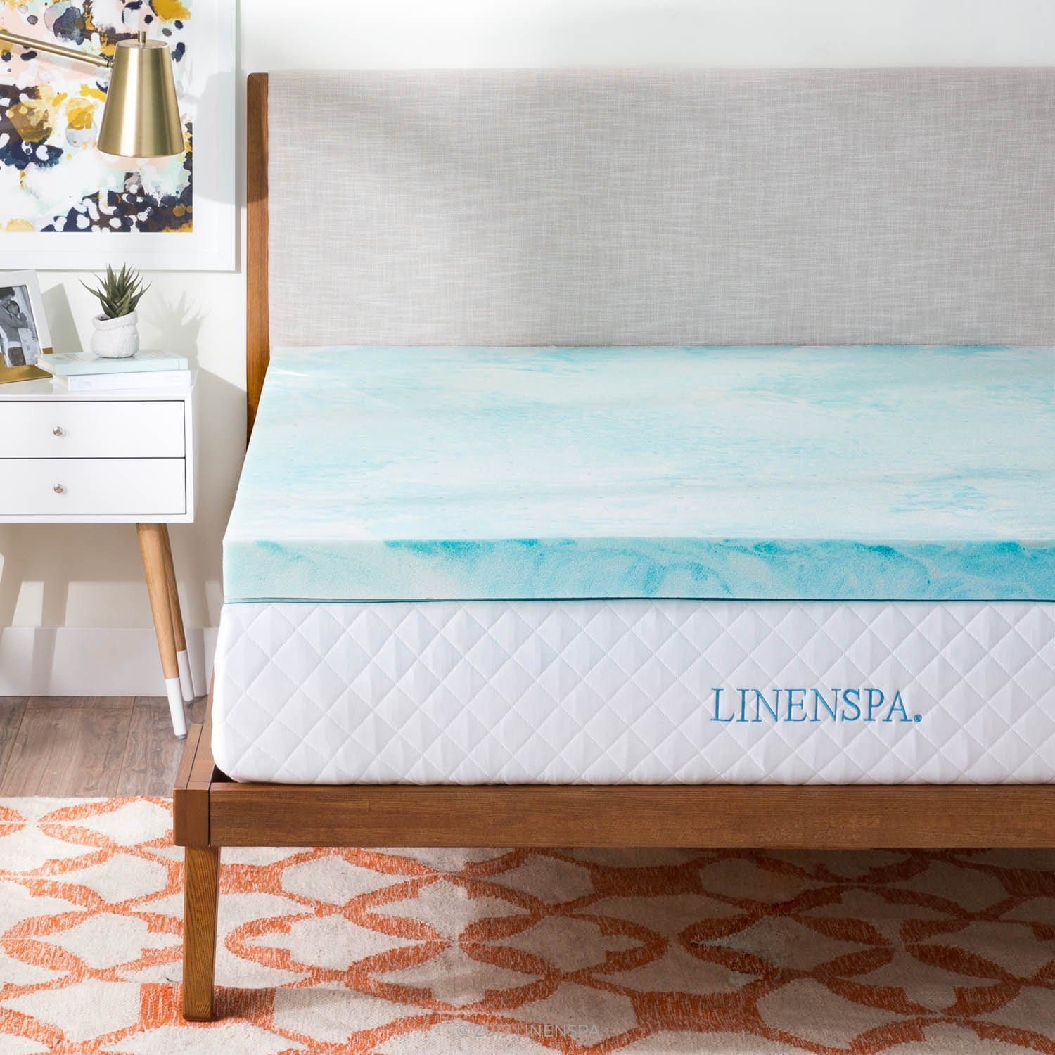Linenspa Best Mattress Topper for Side Sleepers Review by www.snoremagazine.com