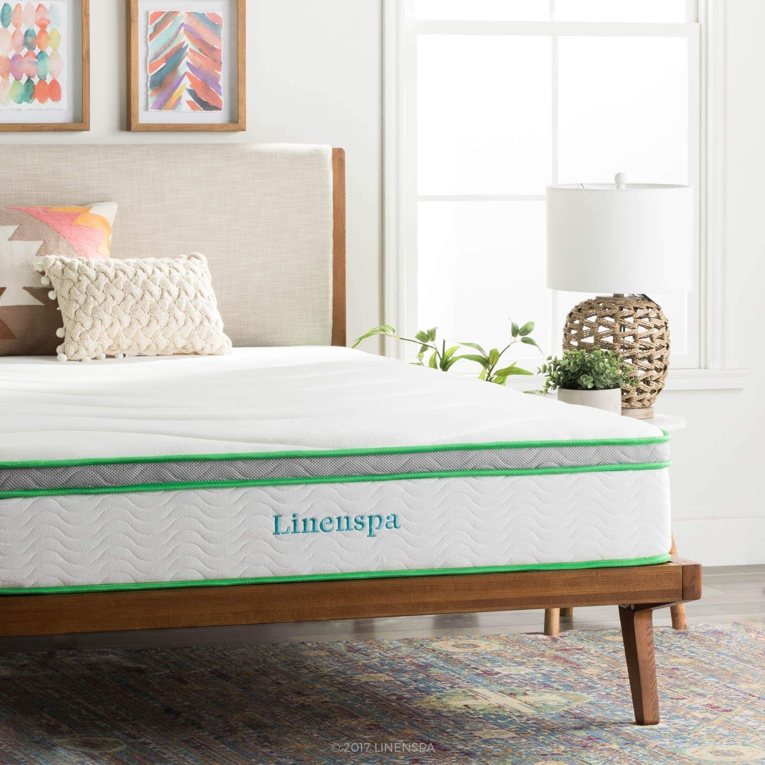 Linenspa best hybrid mattress reviews by www.snoremagazine.com
