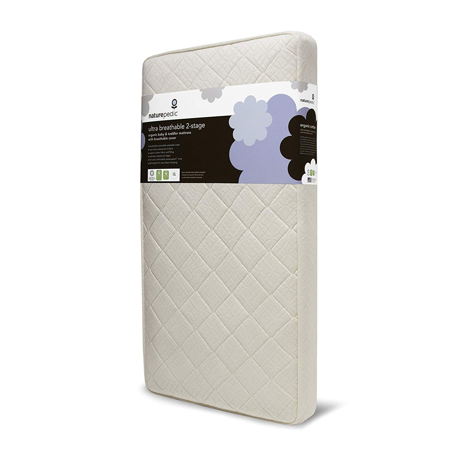 Naturepedic Best Crib Mattress Reviews by www.snoremagazine.com