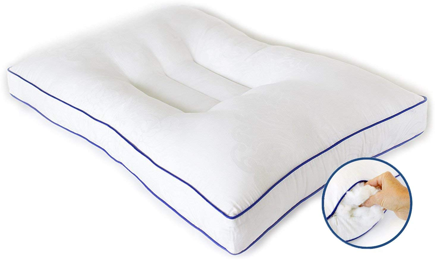 Nature's Guest Pillow for Neck Pain Review by www.snoremagazine.com