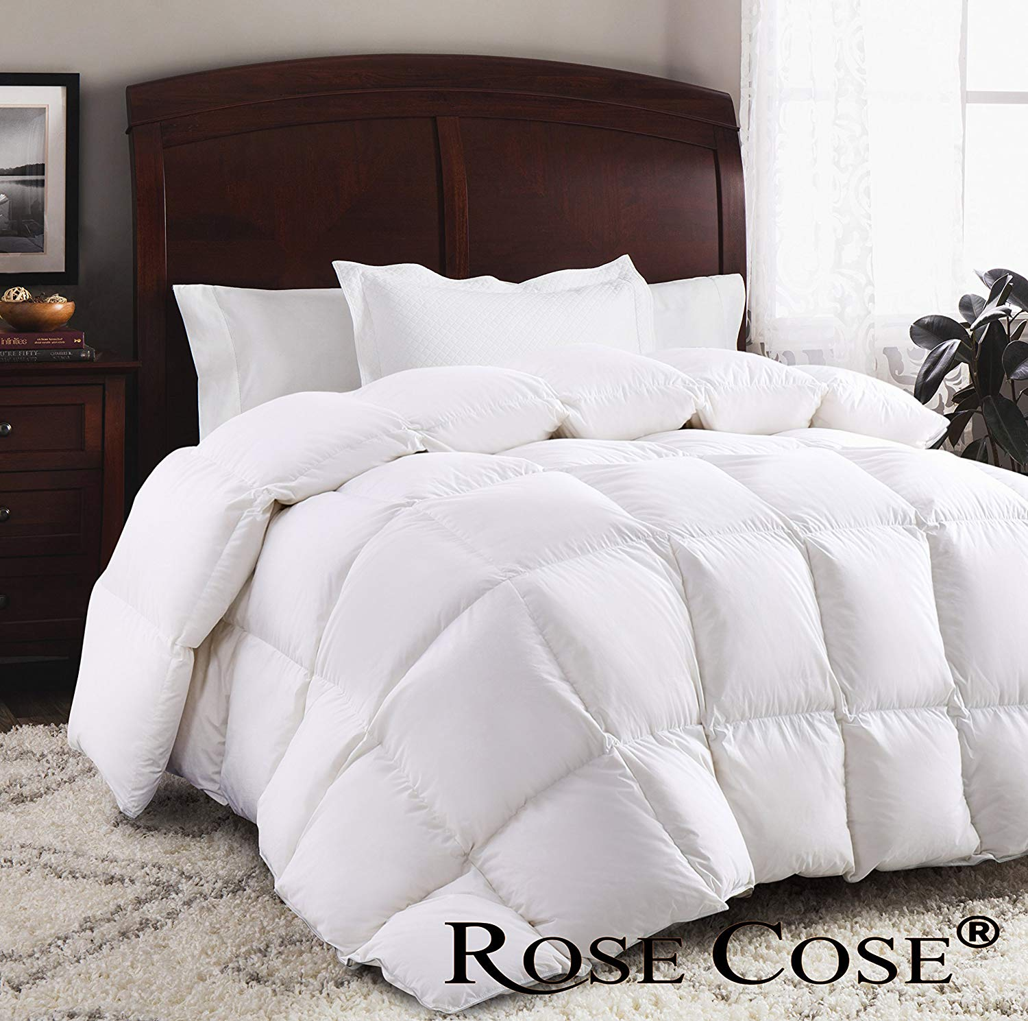 ROSECOSE Best Down Comforter Reviews by www.snoremagazine.com