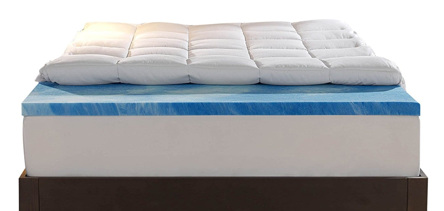 Sleep Innovations Best Mattress Topper for Side Sleepers Review by www.snoremagazine.com