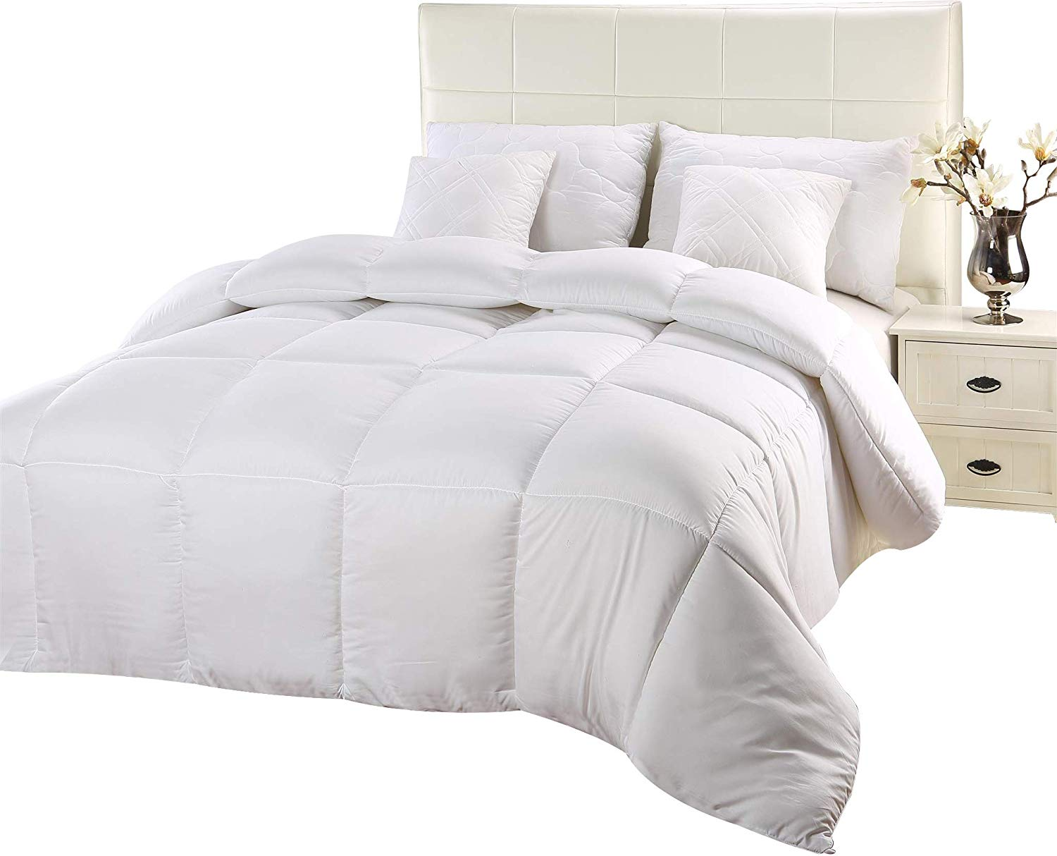 Utopia Bedding Best Down Comforter Reviews by www.snoremagazine.com