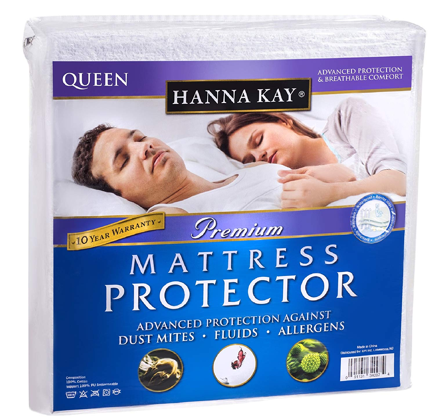Hanna Kay Best Mattress Protectors Review by www.snoremagazine.com