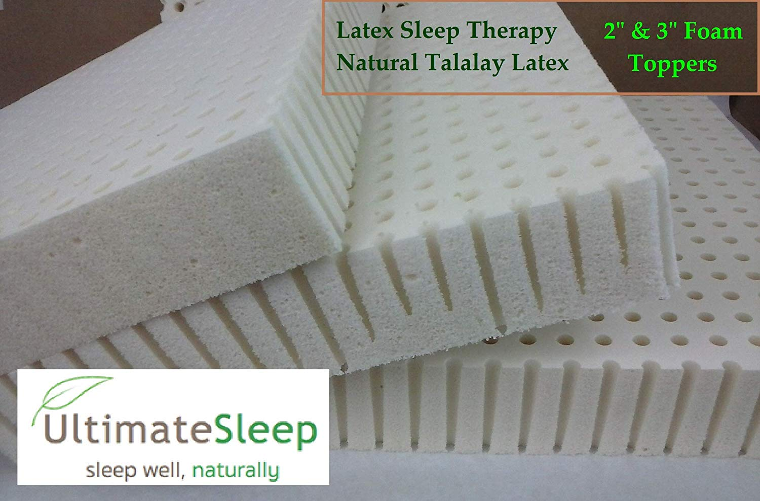 Latex Sleep Therapy Latex Mattress Topper Review by www.snoremagazine.com