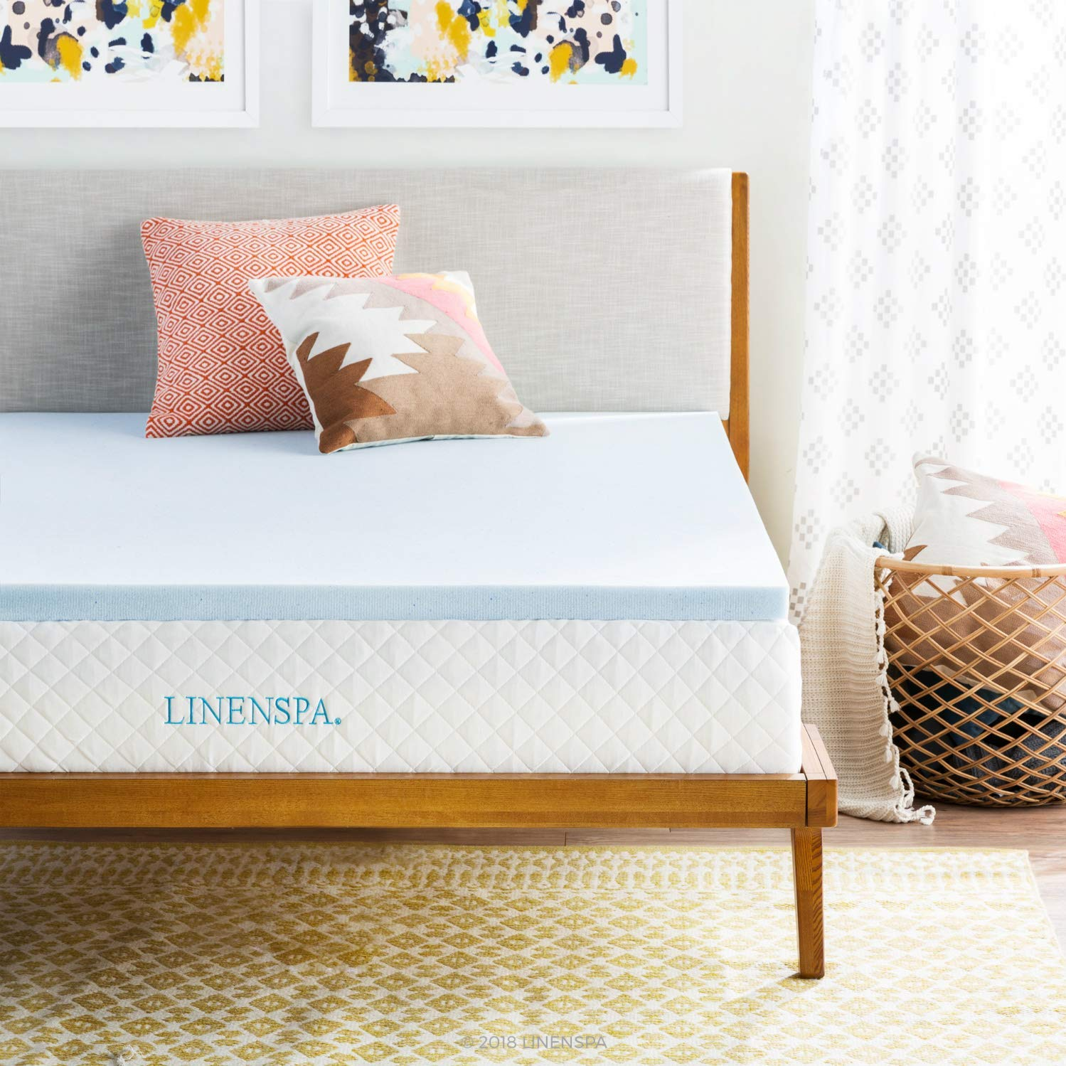 Linenspa Best Memory Foam Mattress Topper Review by www.snoremagazine.com