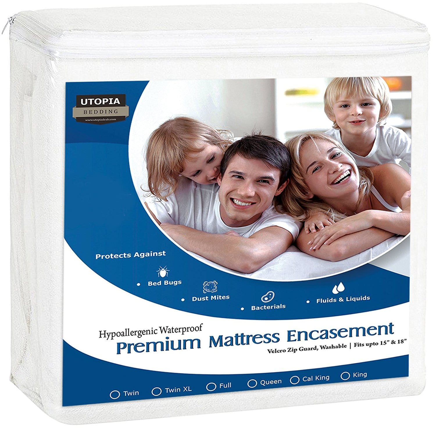 Utopia Bedding Best Mattress Protectors Review by www.snoremagazine.com