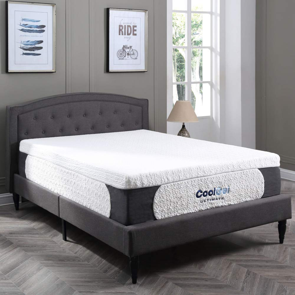 Classic Brands Cool Gel Best Pillow Top Mattress Review by www.snoremagazine.com