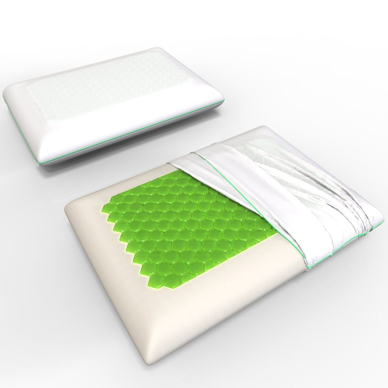 Equinox International Gel Pillow Review by www.snoremagazine.com
