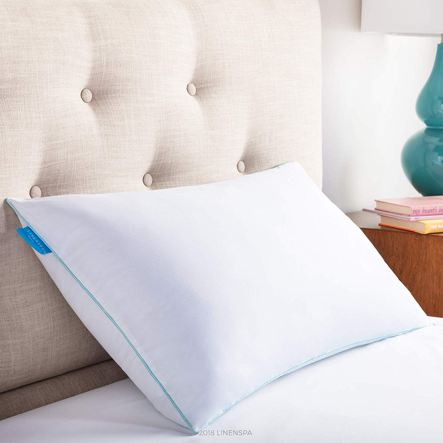 LinenSpa Gel Pillow Review by www.snoremagazine.com