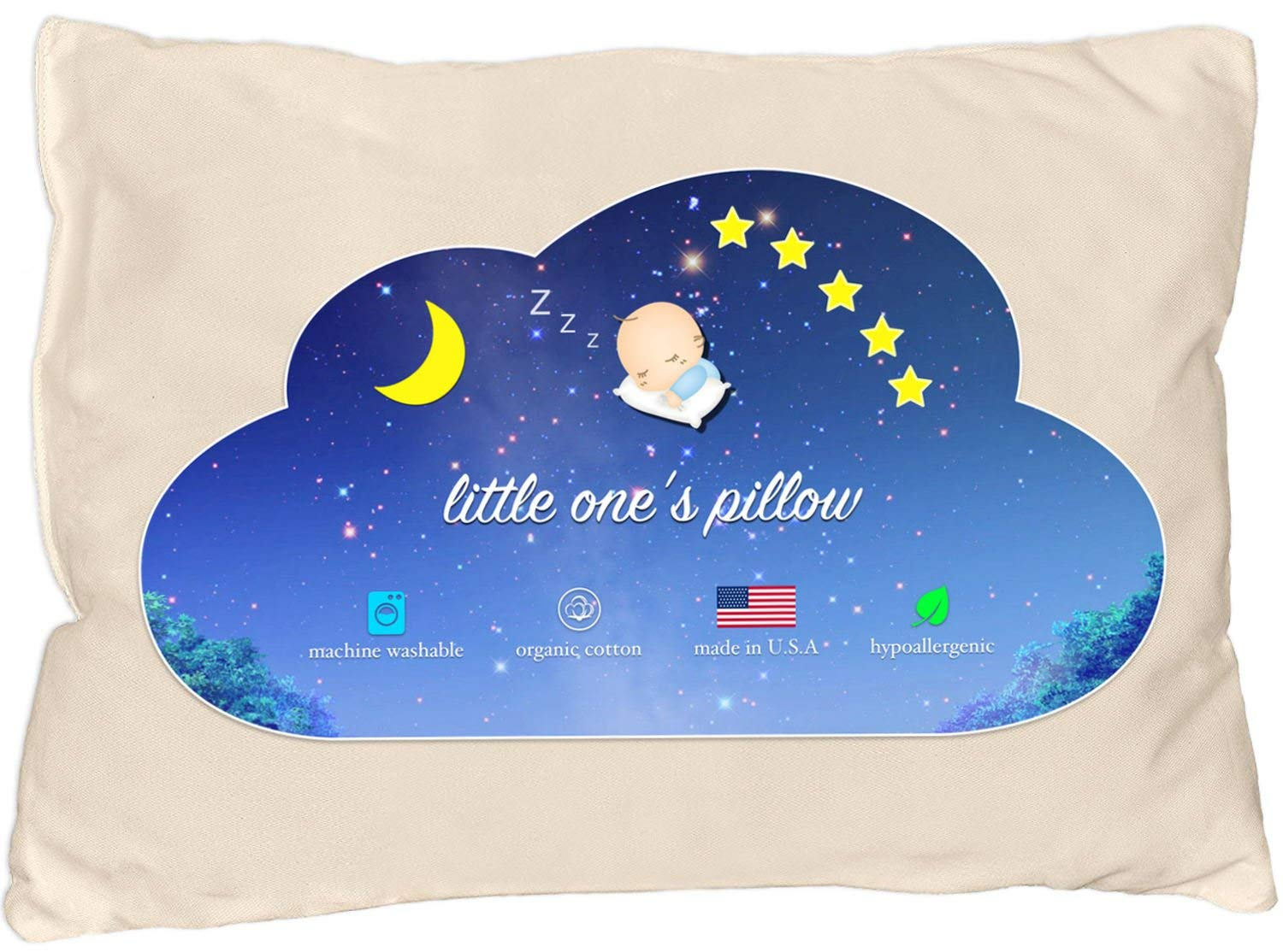 Little One's Pillow Flat Pillow Review by www.snoremagazine.com
