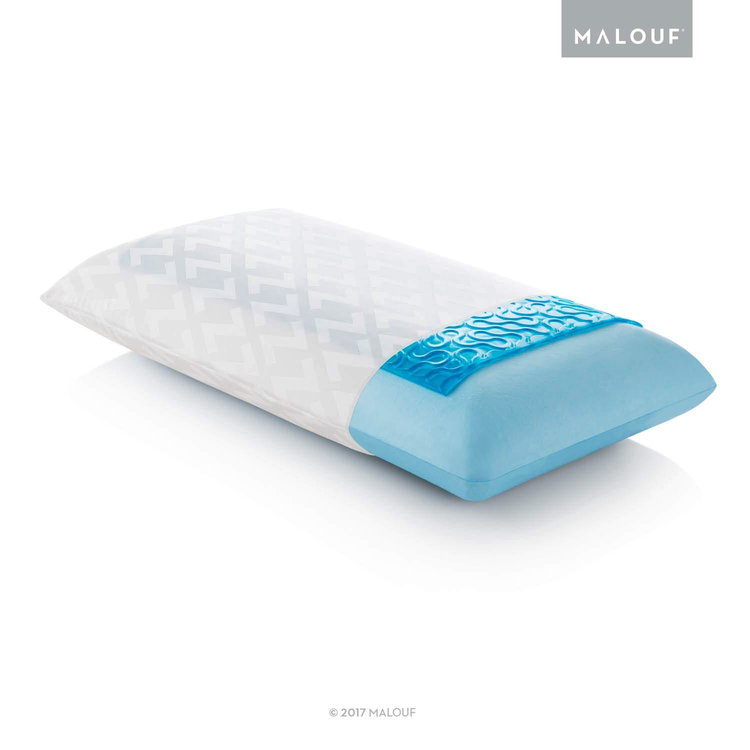 MALOUF Gel Pillow Review by www.snoremagazine.com