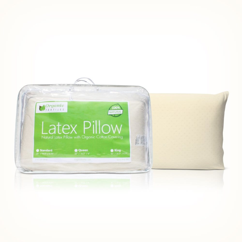 OrganicTextiles Latex Pillow Review by www.snoremagazine.com