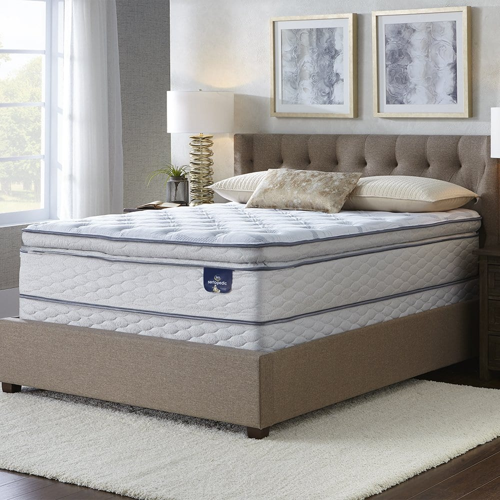 Sertapedic Best Pillow Top Mattress Review by www.snoremagazine.com