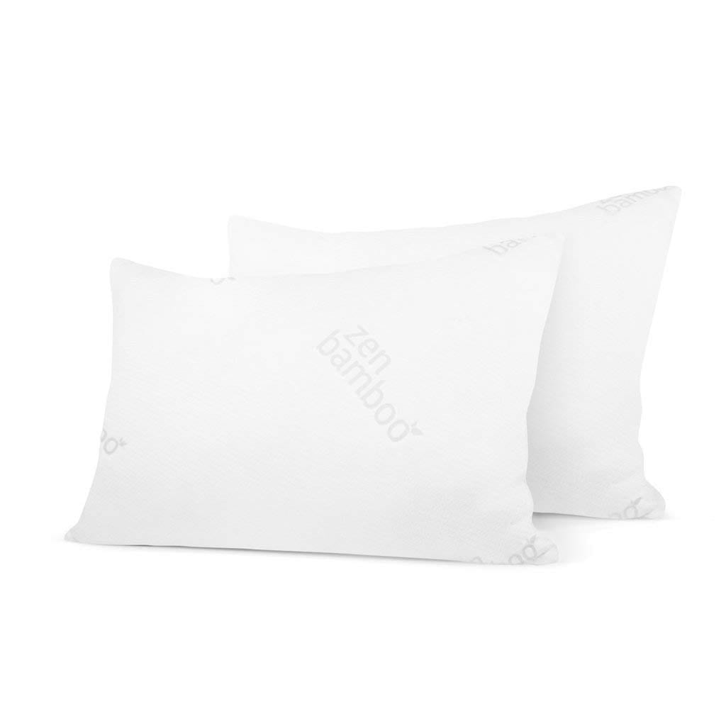Zen Bamboo Gel Pillow Review by www.snoremagazine.com