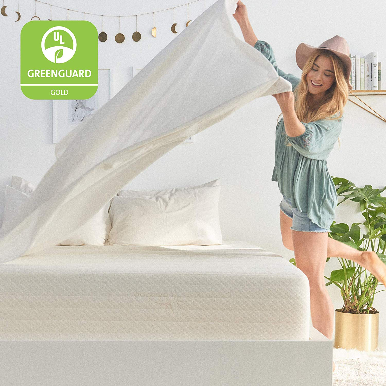 Brentwood Home Cypress Bamboo Mattress Review by www.snoremagazine.com
