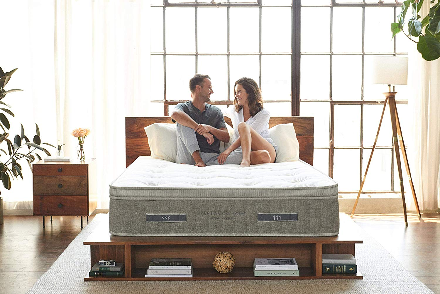 Brentwood Home Luxury Mattress review by www.snoremagazine.com