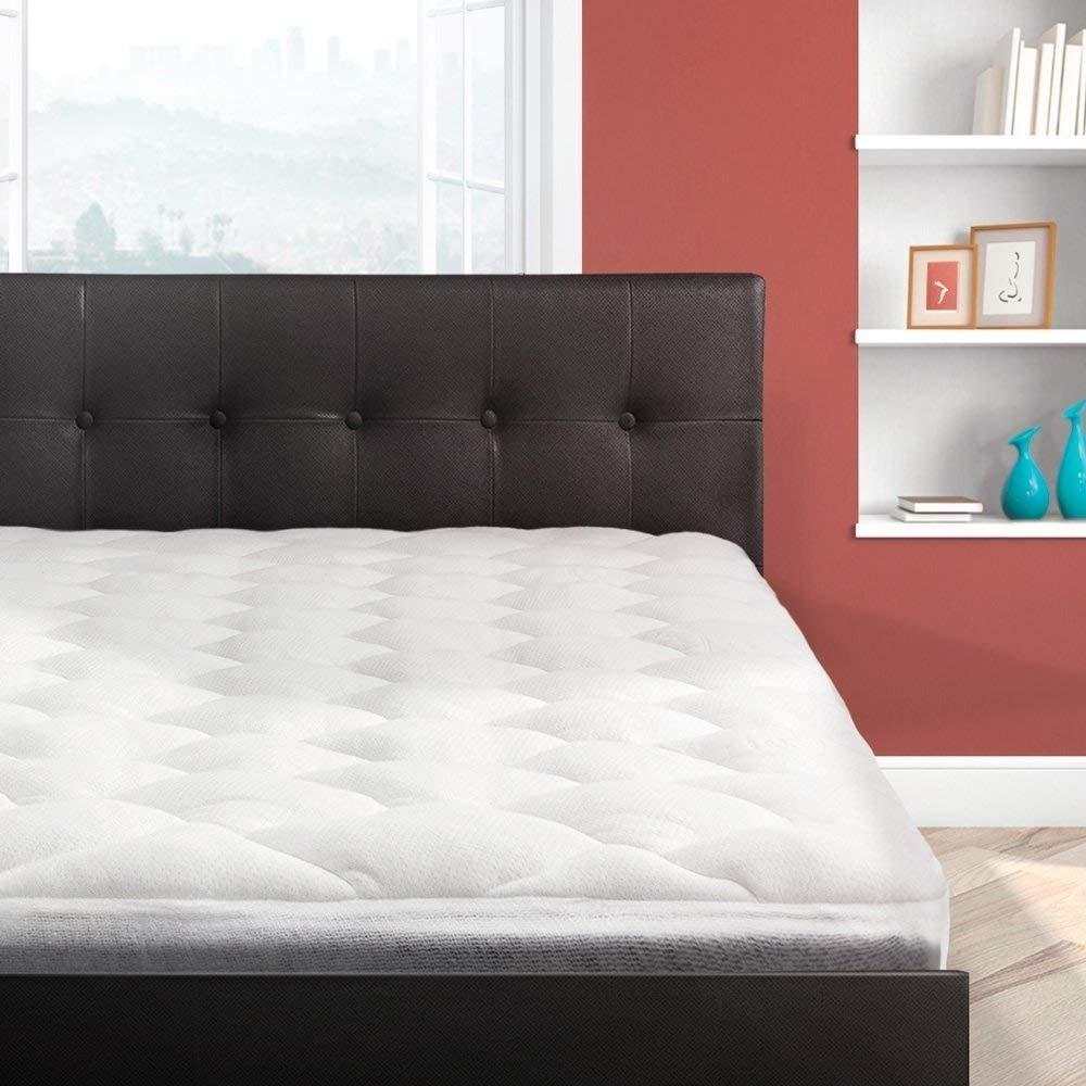 Cardinal & Crest Bamboo Overfilled Pillow Top Mattress Pad