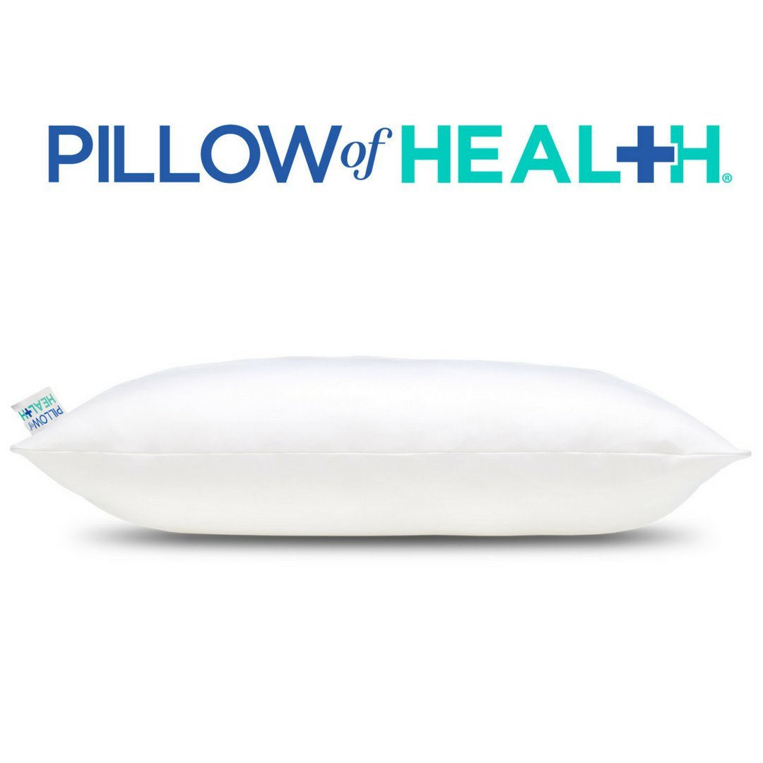 Pillow of Health Best Pillow for Back Pain review by www.snoremegazine.com
