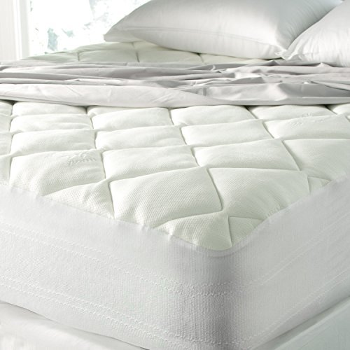 Spa Luxury Cool Touch Bamboo Plush Top Mattress Pad Review by www.snoremagazine.com