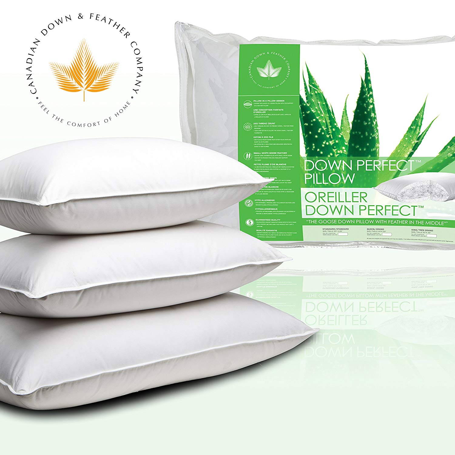 Canadian Down & Feather Company Feather Pillows