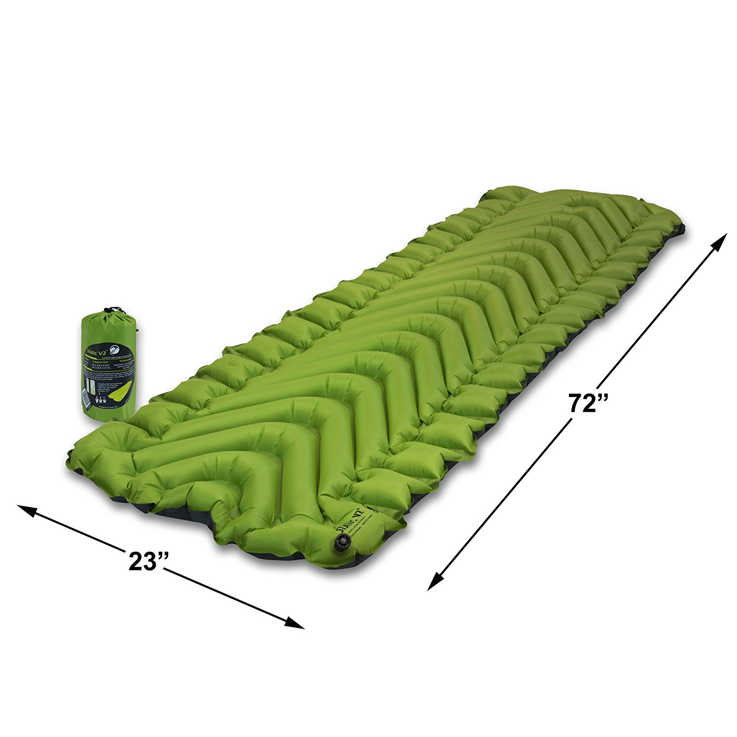 Klymit Static V2 Best Air Mattress For Camping Review by www.snoremagazine.com