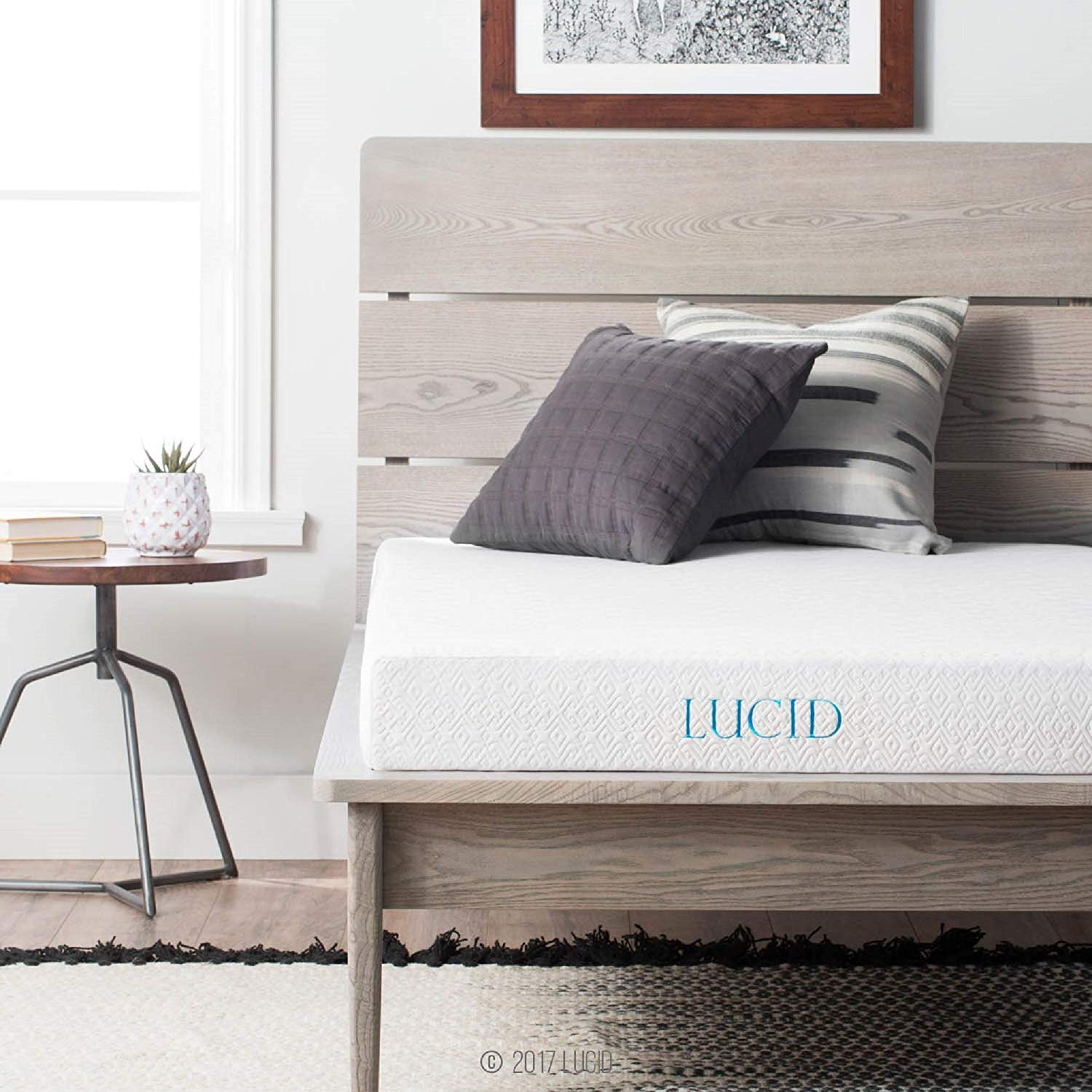 LUCID Thin Mattress Review by www.snoremagazine.com