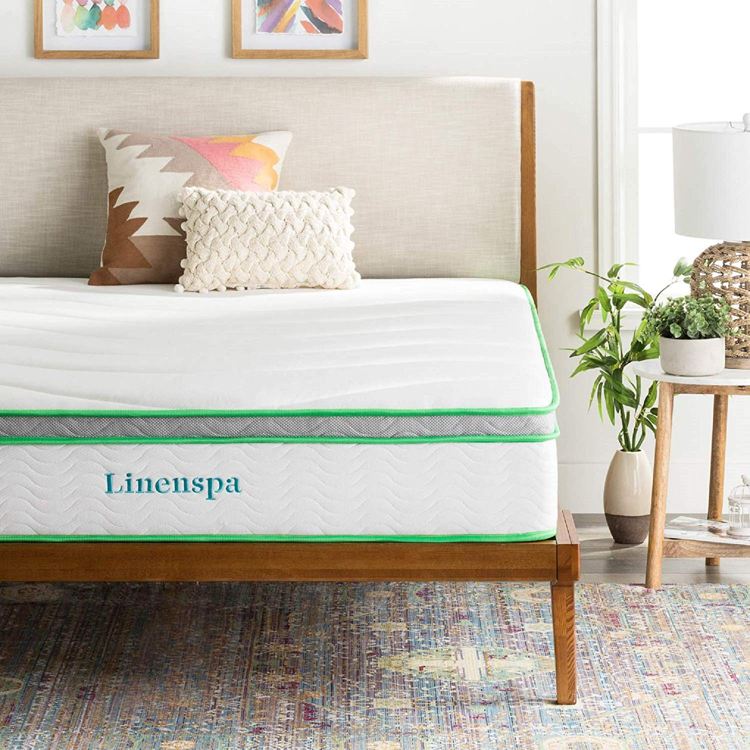 Linenspa Best Mattress For Hip Pain Review by www.snoremagazine.com
