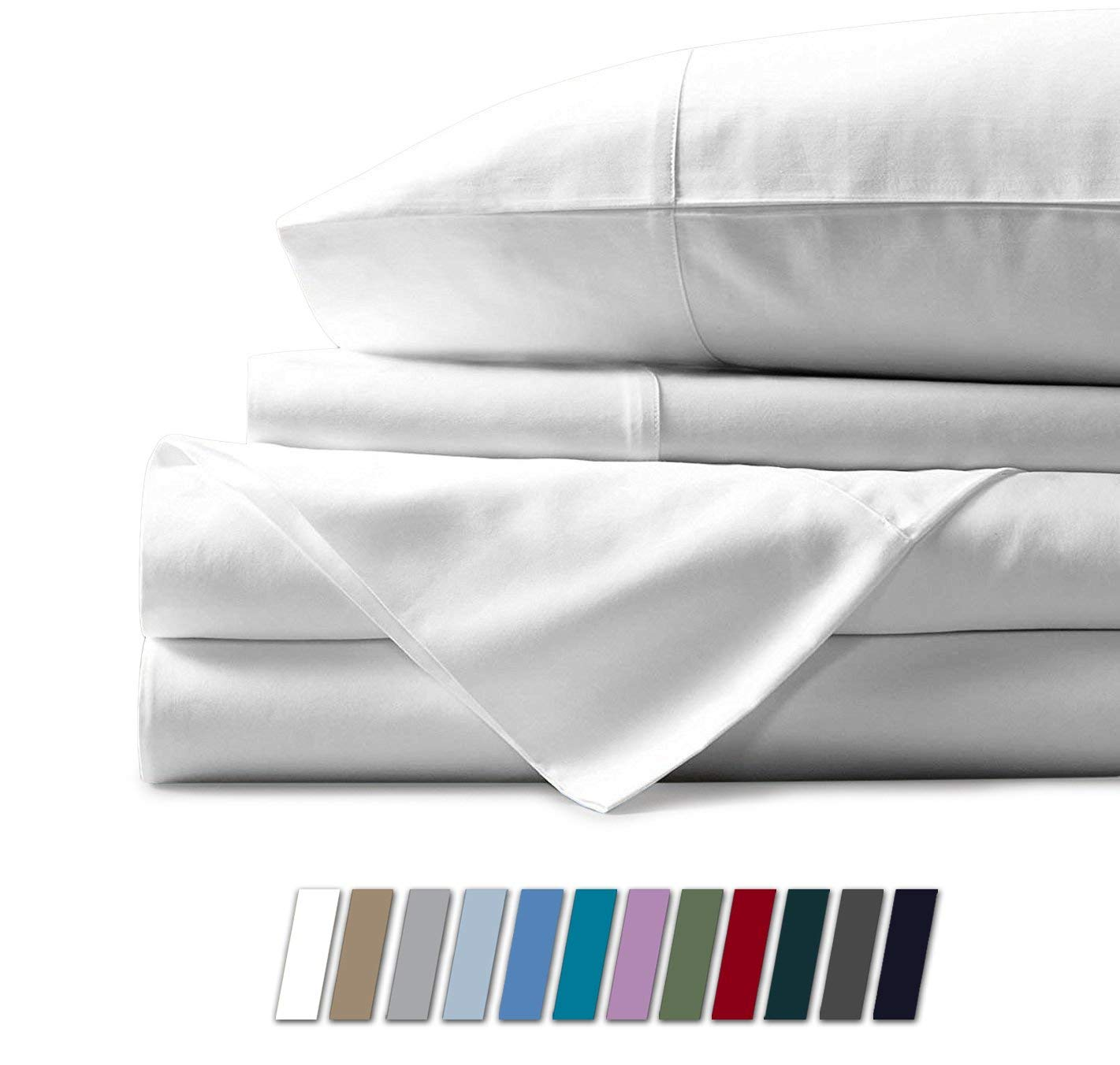 Mayfair Linen Microfiber vs. Cotton Sheets Review by www.snoremagazine.com