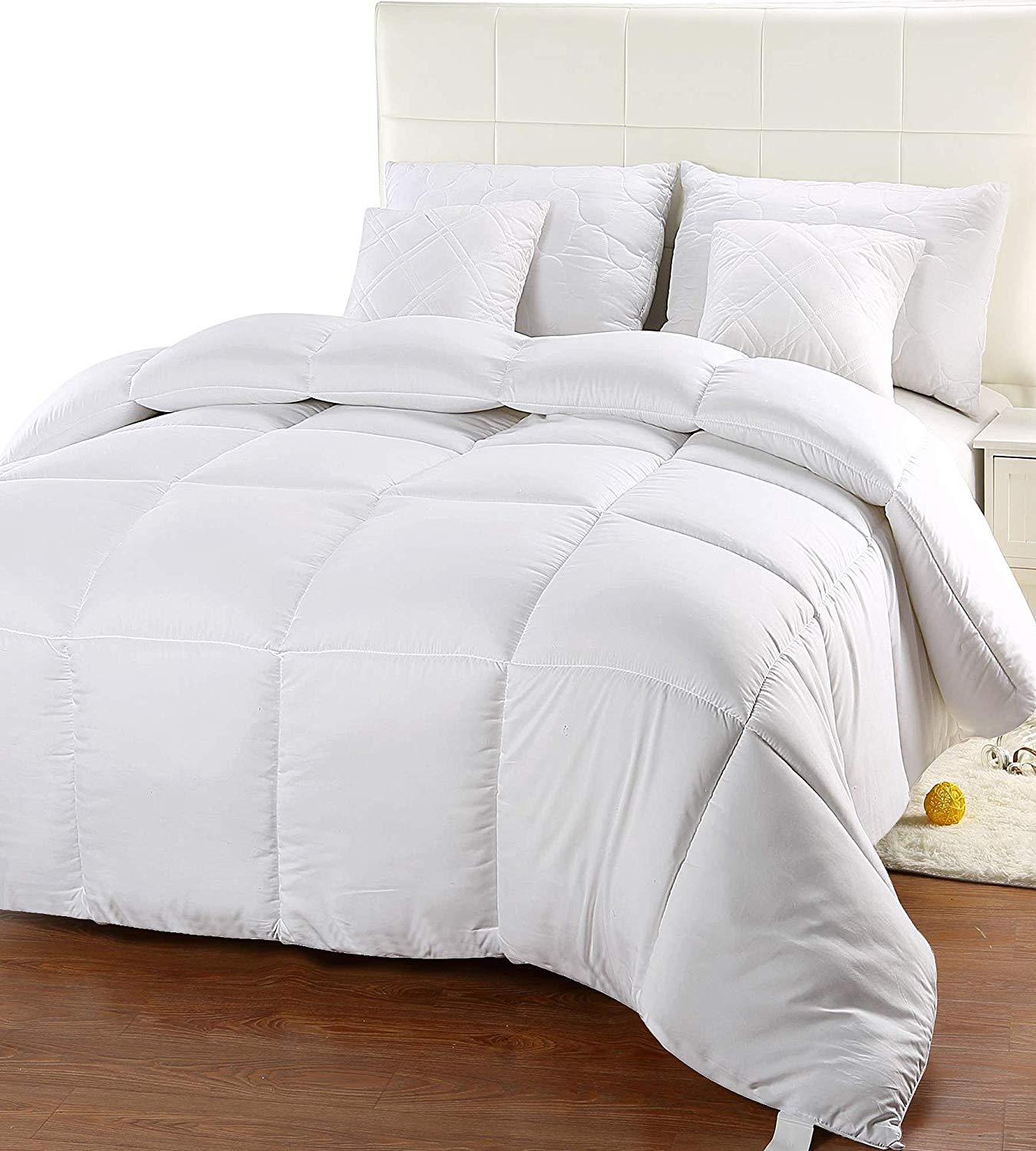 Utopia Bedding Comforter Duvet vs Comforter Review by www.snoremagazine.com