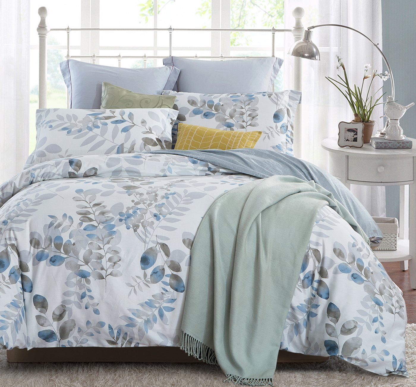 Word Of Dream Cotton Fl Print Duvet Cover Great For Sensitive Skin Review