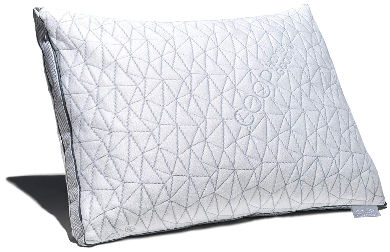 Coop Home Goods Best Pillow For Back Sleepers Review by www.snoremagazine.com