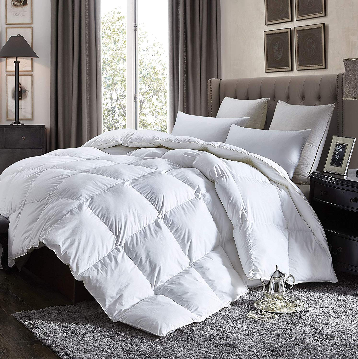 Egyptian Cotton Lightweight Comforter Review by www.snoremagazine.com