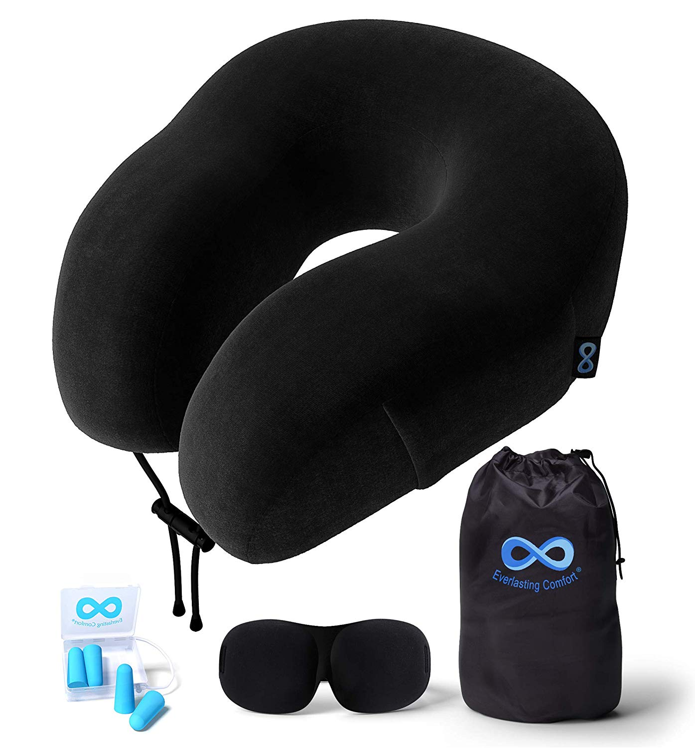 Everlasting Comfort Best Travel Pillow Review by www.snoremagazine.com