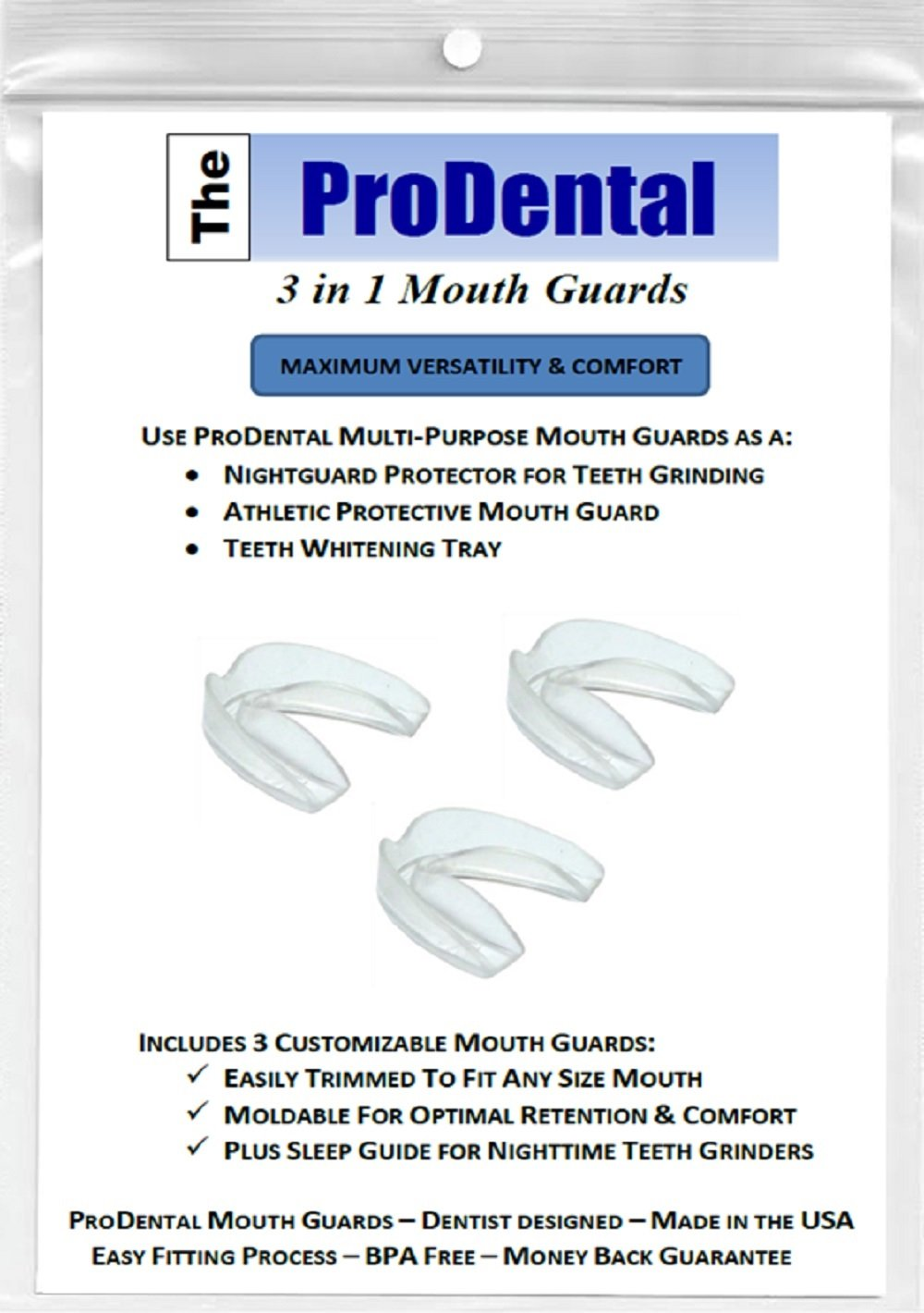 ProDental Best Mouth Guard Review by www.snoremagazine.com